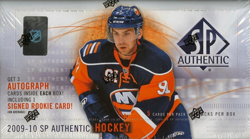 2009/10 Upper Deck SP Authentic Hockey Hobby Box - Pastime Sports & Games