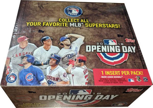 2018 Topps Opening Day Retail - Pastime Sports & Games