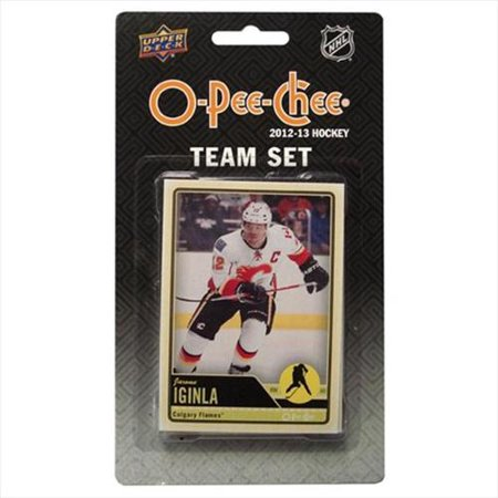 2012/13 Upper Deck O-Pee-Chee Calgary Flames Team Card Set - Pastime Sports & Games
