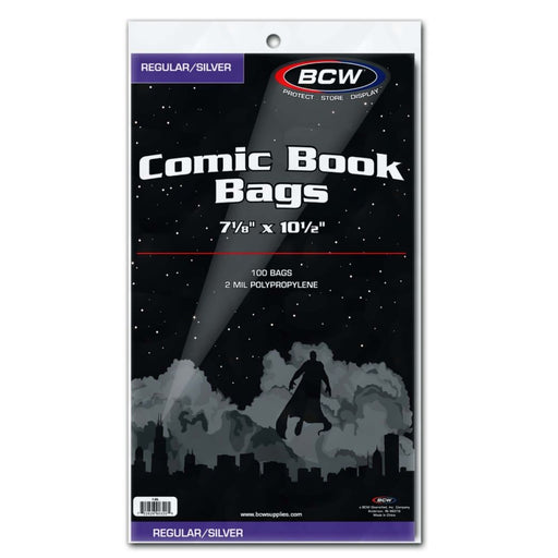 BCW Comic Book Bags - Pastime Sports & Games