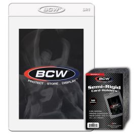 BCW Semi-Rigid Card Holders