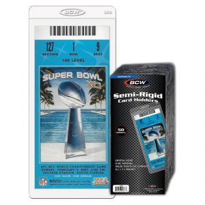 BCW Semi-Rigid Card Holders #5 - Pastime Sports & Games