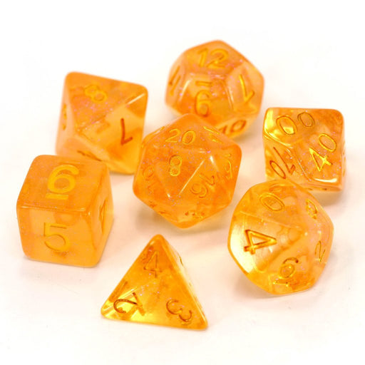 Die Hard Dice 7pc RPG Dice Set Fire Sprite - Pastime Sports & Games