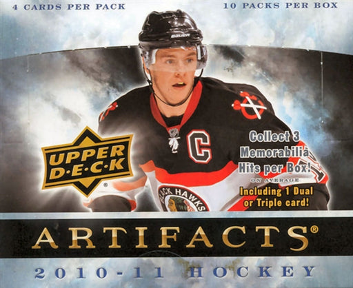 2010/11 Upper Deck Artifacts Hockey Hobby Box - Pastime Sports & Games