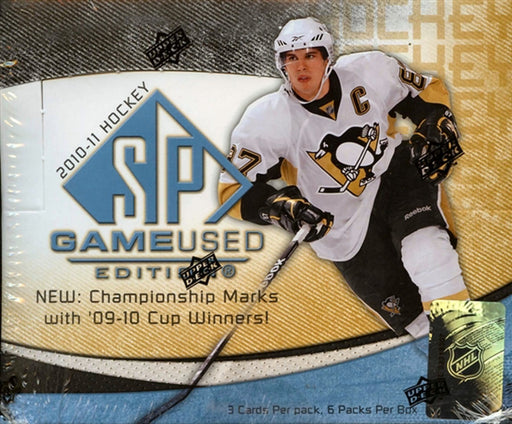 2010/11 Upper Deck SP Game Used Hockey Hobby Box - Pastime Sports & Games