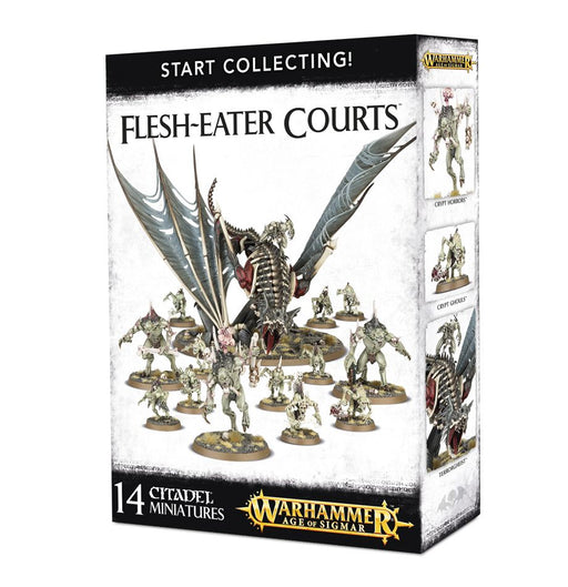 Warhammer Age Of Sigmar Start Collecting! Flesh-Eater Courts (70-95)