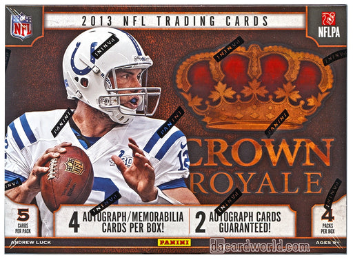 2013 Panini Crown Royale Football Hobby - Pastime Sports & Games