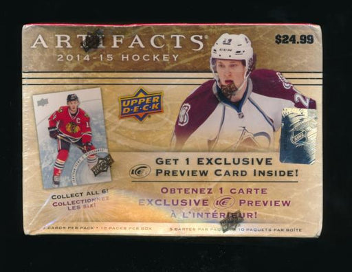 2014/15 Upper Deck Artifacts Hockey Booster Box - Pastime Sports & Games