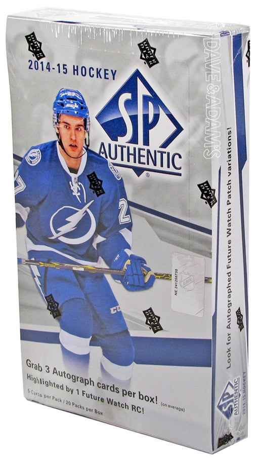2014/15 Upper Deck SP Authentic Hockey Hobby Box - Pastime Sports & Games