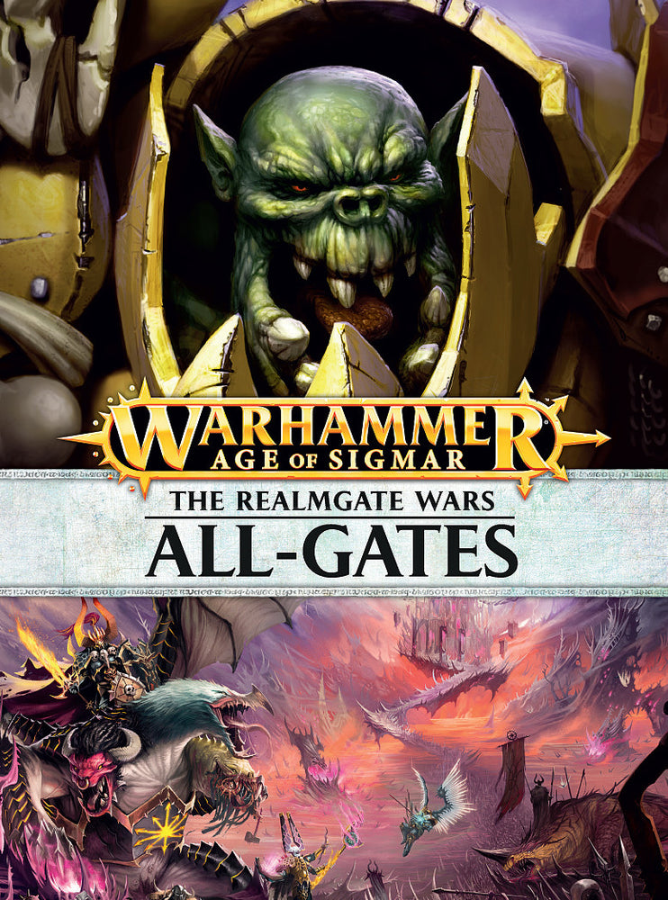 Warhammer Age Of Sigmar The Realmgate Wars: All-Gate (80-10-60) - Pastime Sports & Games