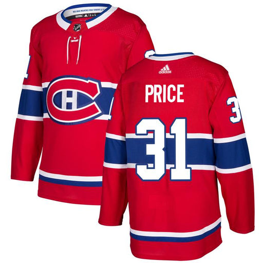 2017/18 Montreal Canadiens Carey Price Adidas Home Red Jersey - Pastime Sports & Games