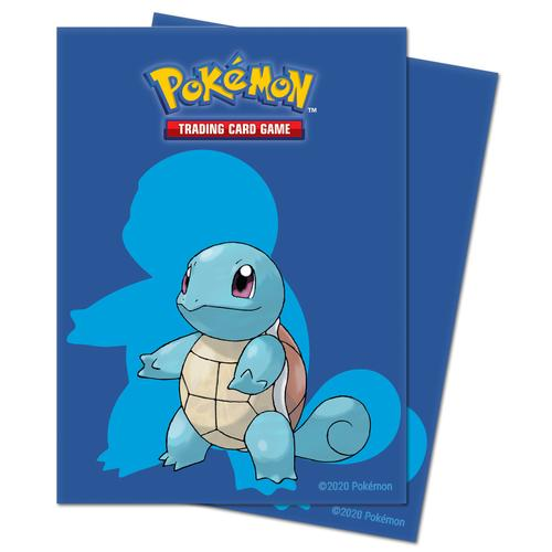 Ultra Pro Pokemon Squirtle Deck Protector Sleeves 65ct - Pastime Sports & Games