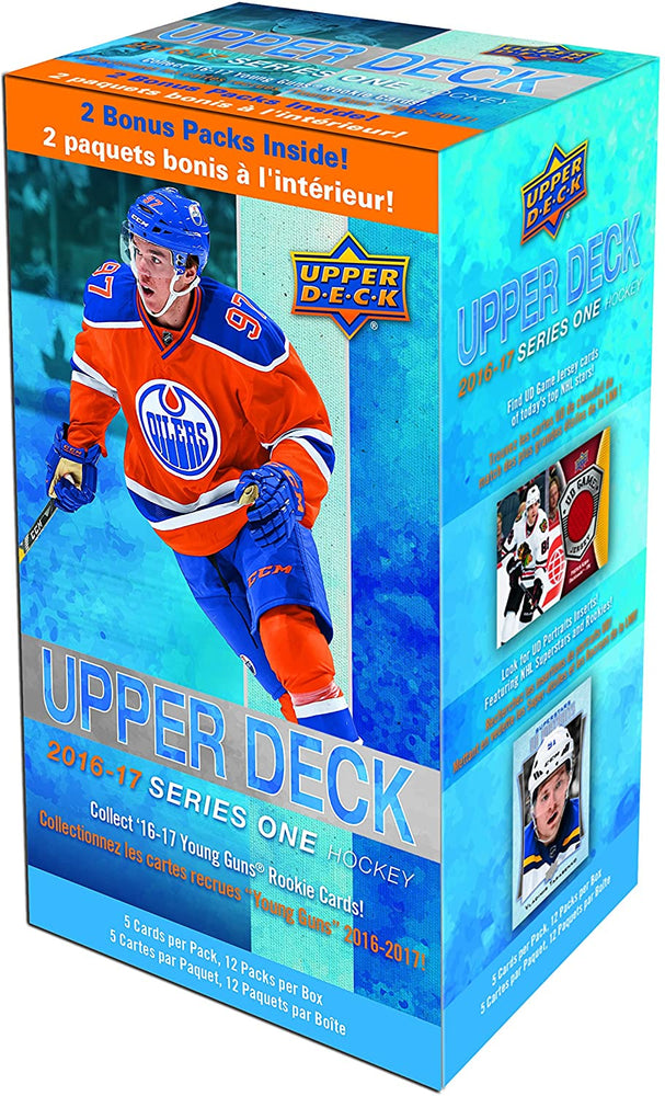 2016/17 Upper deck Series One Hockey Blaster - Pastime Sports & Games