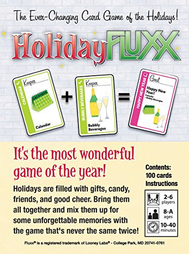 Holiday Fluxx - Pastime Sports & Games