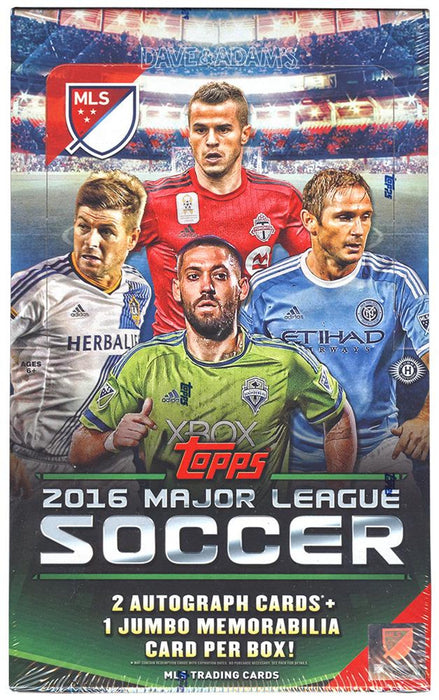 2016 Topps Major League Soccer Hobby