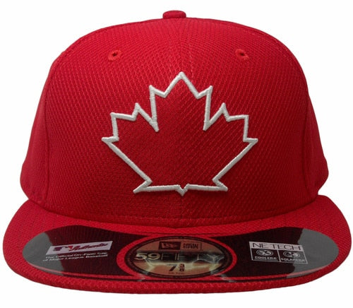 Toronto Blue Jays Baseball Diamond 5950 Hat (Red New Era) - Pastime Sports & Games