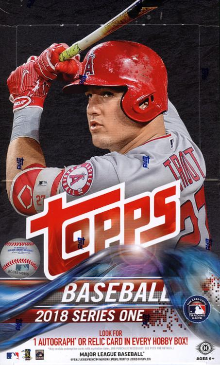 2018 Topps Series One Baseball Hobby - Pastime Sports & Games