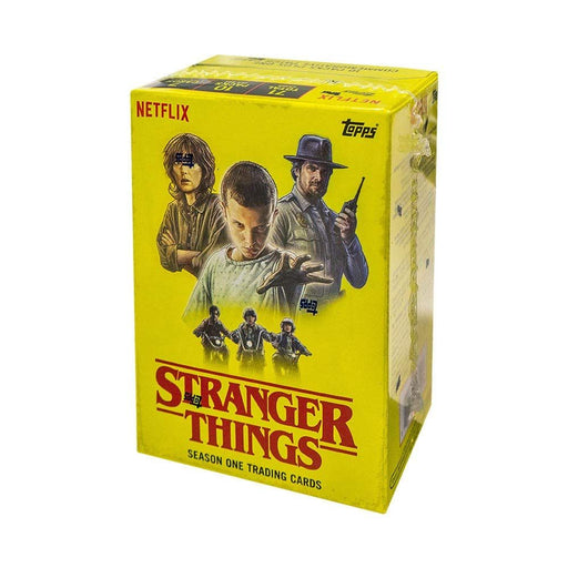 Topps Netflix Stranger Things Season One Blaster Box - Pastime Sports & Games