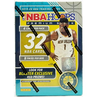 2019/20 Panini Hoops Premium Basketball Blaster - Pastime Sports & Games