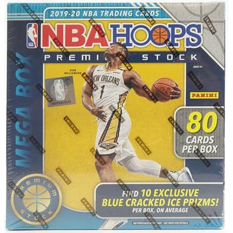 2019/20 Panini Hoops Premium Basketball Mega Box - Pastime Sports & Games