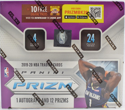 2019/20 Panini Prizm Basketball Retail Box - Pastime Sports & Games