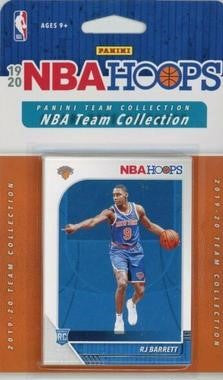"2019/20 Panini NBA Hoops Team Collection New York Knicks ""RJ Barrett Rookie"" - Pastime Sports & Games"
