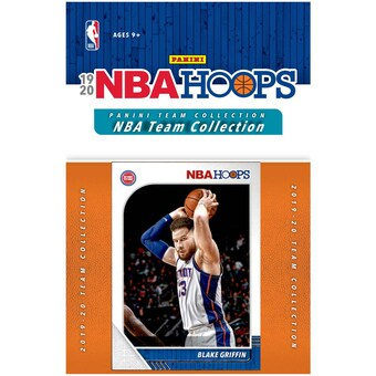 2019/20 Panini NBA Hoops Team Collection Detroit Pistons - Pastime Sports & Games