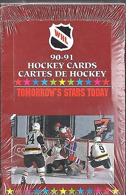 1990/91 Western Hockey League Tomorrows Stars Today - Pastime Sports & Games