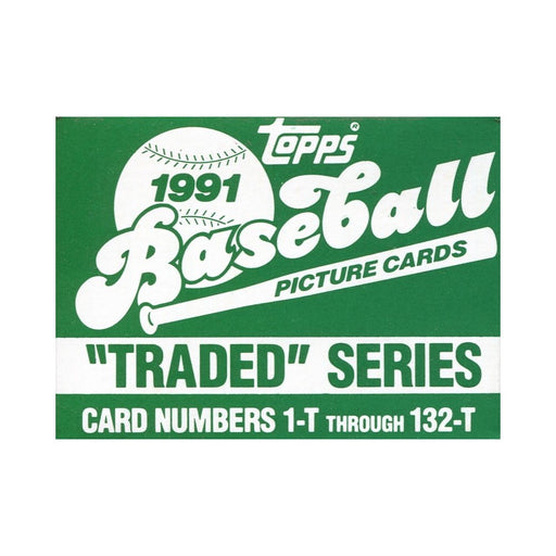 1991 Topps Traded Set - Pastime Sports & Games