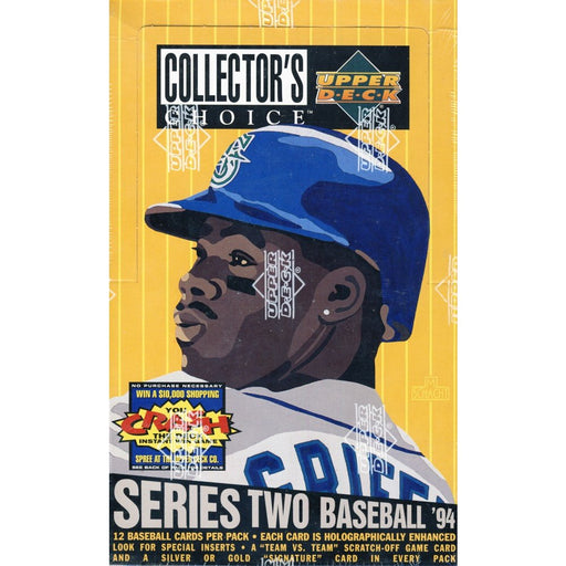 1994 Upper Deck Collector's Choice Series One Baseball Hobby Box