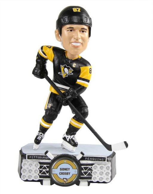 Sidney Crosby Pittsburgh Penguins Hockey Bobblehead(Black FOCO) - Pastime Sports & Games