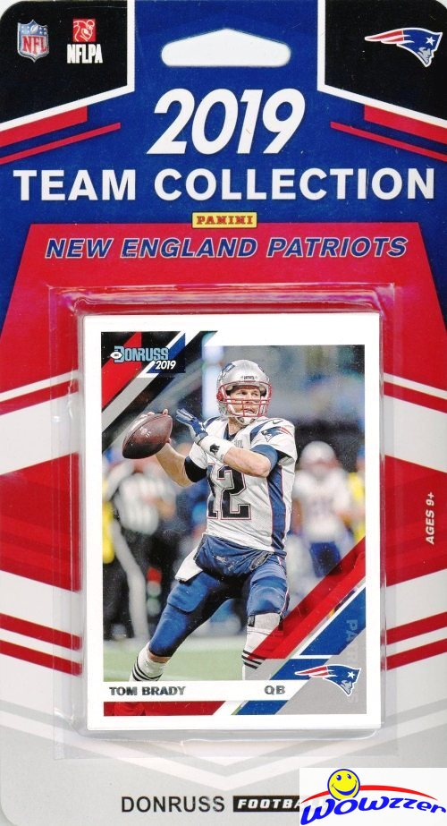 2019 Panini Donruss NFL Team Collection New England Patriots - Pastime Sports & Games