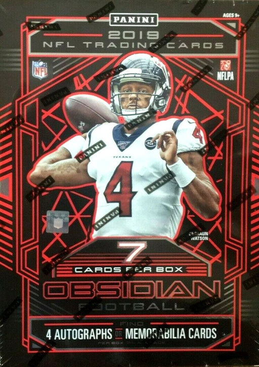 2019 Panini Obsidian Football Hobby - Pastime Sports & Games