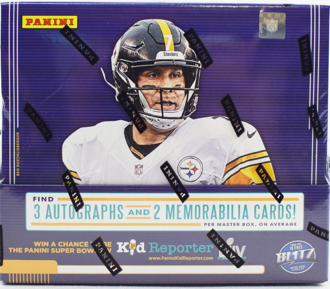 2019 Panini Absolute Football Hobby - Pastime Sports & Games