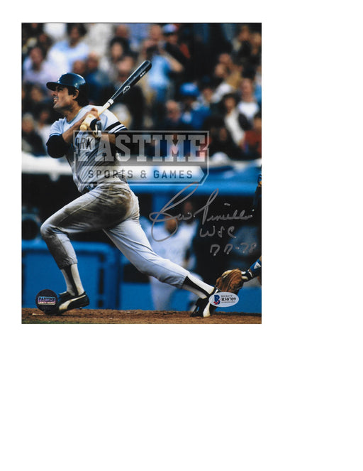 Lou Piniella Autographed 8X10 New York Mets (Swinging Bat) - Pastime Sports & Games