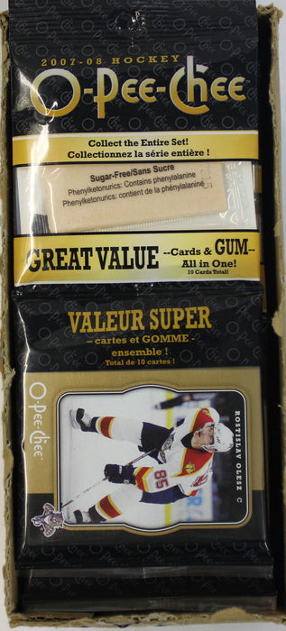 2007/08 O-Pee-Chee Hockey Gum - Pastime Sports & Games