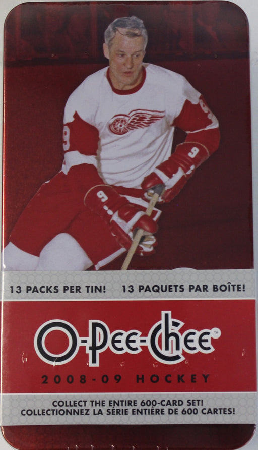 2008/09 O-Pee-Chee Hockey Tin - Pastime Sports & Games