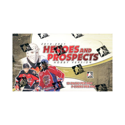 2010/11 In the Game Heroes & Prospects Hockey Hobby - Pastime Sports & Games