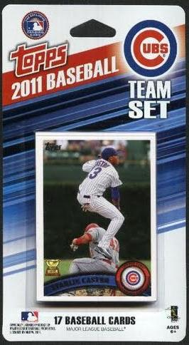 2011 Topps Chicago Cubs Team Set - Pastime Sports & Games