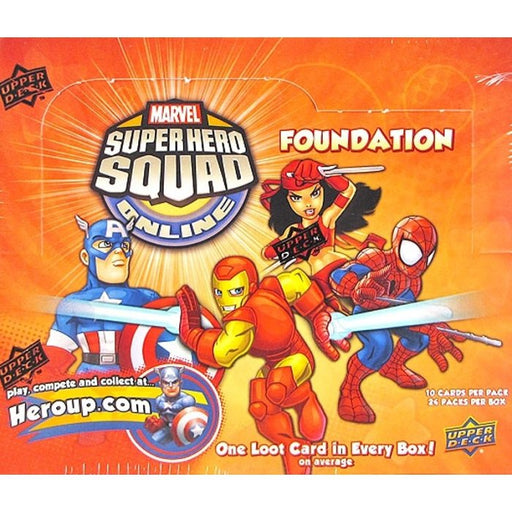 2012 Marvel Super Hero Squad Online Foundation Retail - Pastime Sports & Games