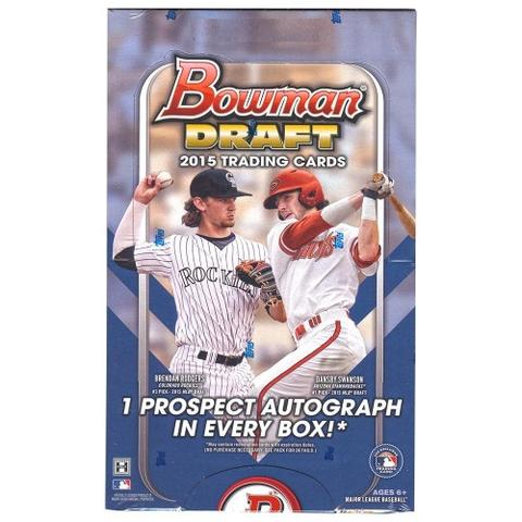 2015 Topps Bowman Draft Baseball Jumbo Hobby - Pastime Sports & Games