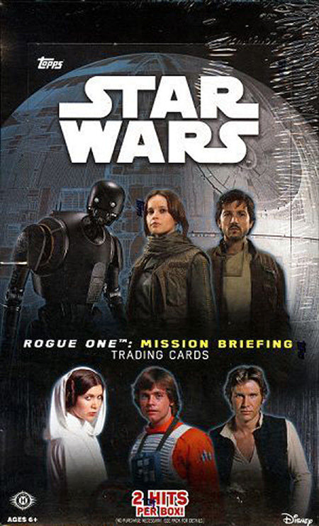 2016 Topps Star Wars Rogue One Mission Briefing Hobby - Pastime Sports & Games