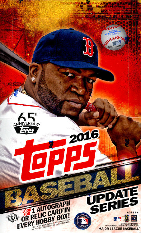 2016 Topps Series Two Baseball Hobby - Pastime Sports & Games