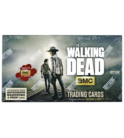 AMC The Walking Dead Season 4 Part 1 Hobby - Pastime Sports & Games