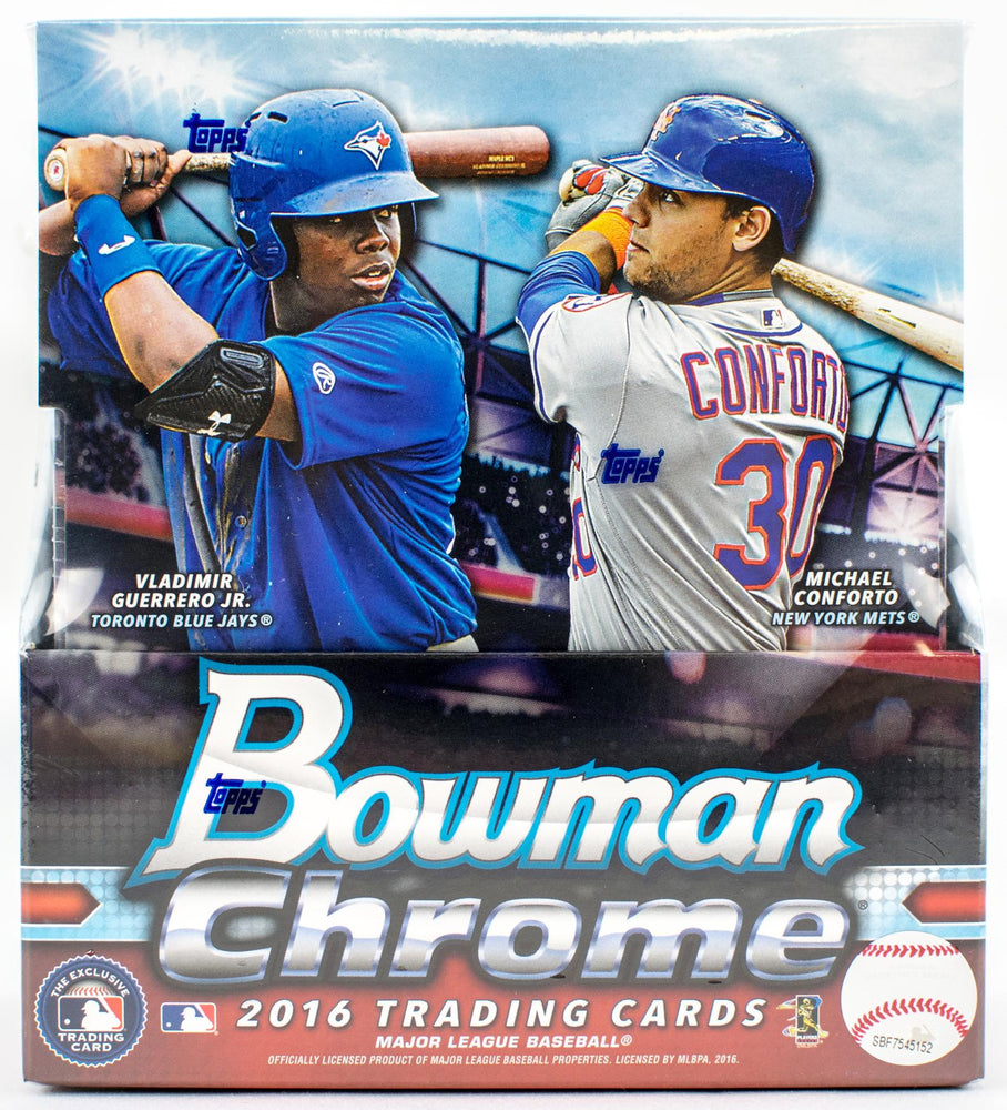 2016 Bowman Chrome Baseball Hobby - Pastime Sports & Games