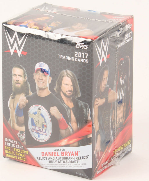 2017 Topps WWE Blaster Box - Pastime Sports & Games