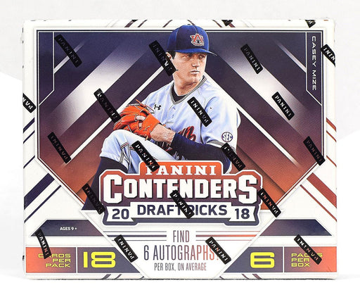2018 Panini Contenders Draft Picks Baseball Hobby - Pastime Sports & Games