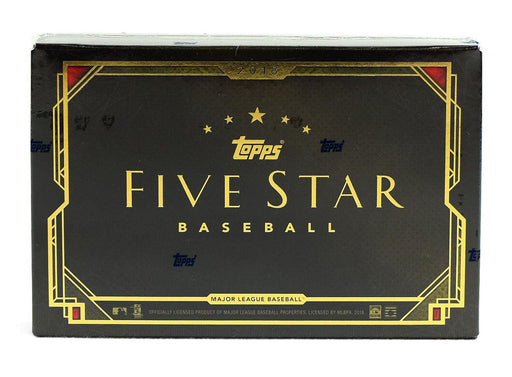2018 Topps Five Star Baseball Hobby - Pastime Sports & Games
