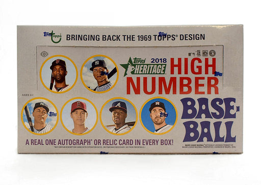 2018 Topps Heritage High Number Baseball Hobby - Pastime Sports & Games