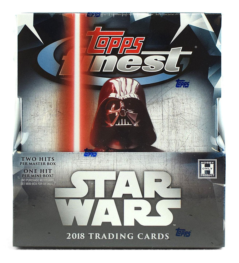 2018 Topps Finest Star Wars Hobby Box